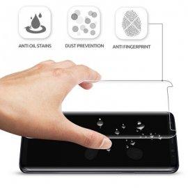 Dán màn hình Galaxy S9 Plus Full Keo UV Lito dùng được vs case UAG