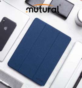 Bao da Ipad Pro 11 Mutural có khay để bút cao cấp (New 2018)