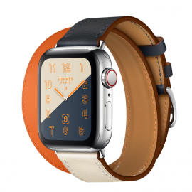 Dây Apple Watch Hermes Double Tour 2 màu 2018 (44 & 40 & 38 & 42)