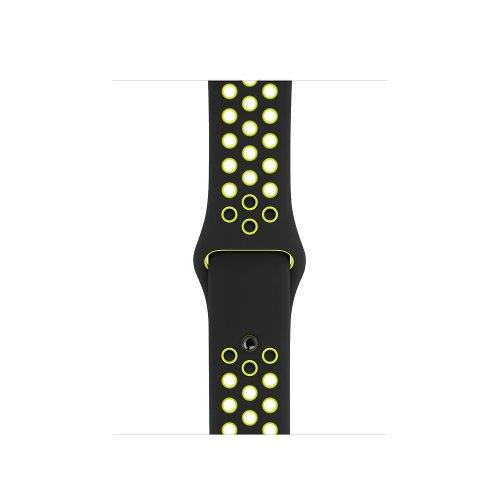 Dây Apple Watch (44 & 42 mm) Nike Black/Volt của Apple – Real ,2