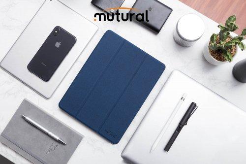Bao Da Ipad Mini 5  2019 ( New) Hiệu Mutural Có Khe Để Bút Cảm Ứng ,2