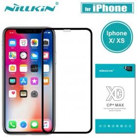 Dán kính cường lực Iphone X/XS Nillkin XD+ dùng được ốp chống sốc ,1