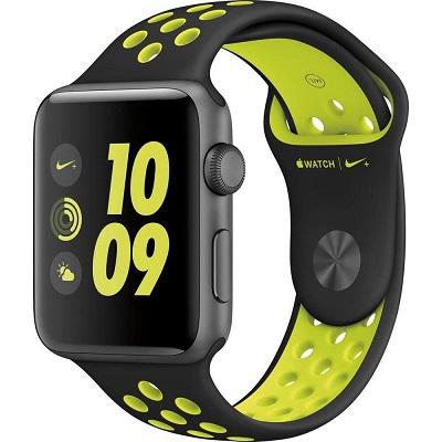 Dây Apple Watch (44 & 42 mm) Nike Black/Volt của Apple – Real ,1