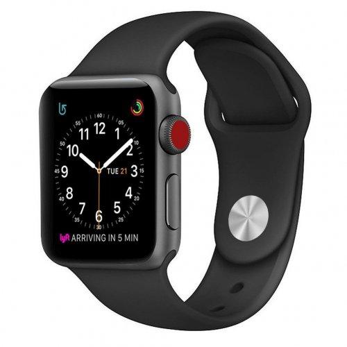 Dây Apple Watch Sport Black chính hãng của Apple – Real (44 & 42 mm) ,1