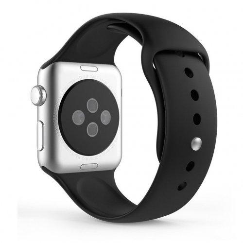 Dây Apple Watch Sport Black chính hãng của Apple – Real (44 & 42 mm) ,2