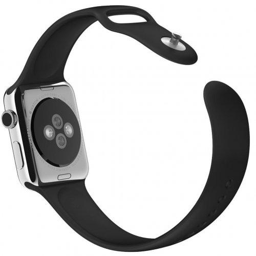 Dây Apple Watch Sport Black chính hãng của Apple – Real (44 & 42 mm) ,3