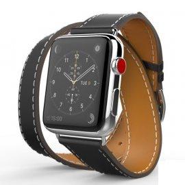 Dây Apple Watch Hermes Double Tour da (44 & 42)