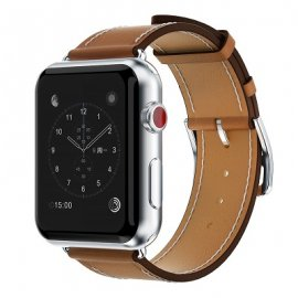 Dây Apple Watch Hermes Single Tour da cao cấp (44 & 40 & 38 & 42)