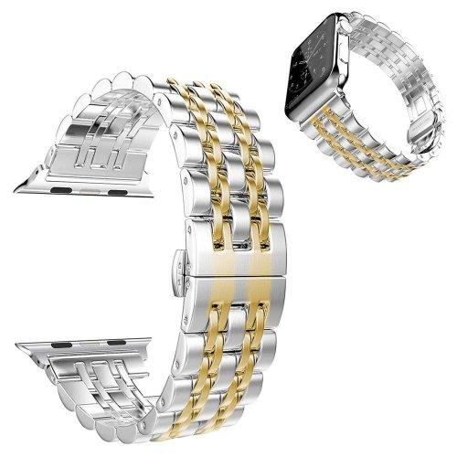 Dây đeo Apple Watch thép không gỉ hạt nhỏ ( 44&42 mm ) ,3
