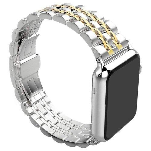 Dây đeo Apple Watch thép không gỉ hạt nhỏ ( 44&42 mm ) ,2