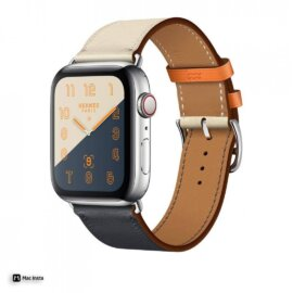 Dây Apple Watch Hermes Single Tour 2 màu 2018 (44 & 40 & 38 & 42)