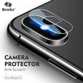 Kính chịu lực camera Iphone XS Max Benks siêu mỏng 0.15 mm (2 tấm)