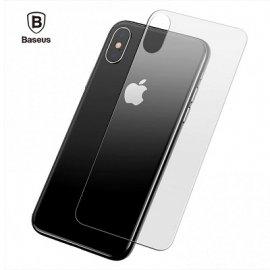 Kính cường lực mặt sau Iphone XS Max Baseus cao cấp
