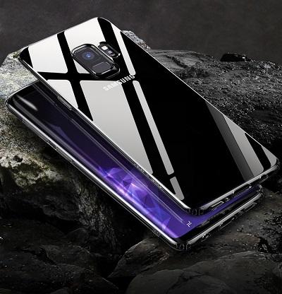 Ốp lưng Galaxy S9 Baseus trong suốt siêu mỏng 0.5 mm ,1