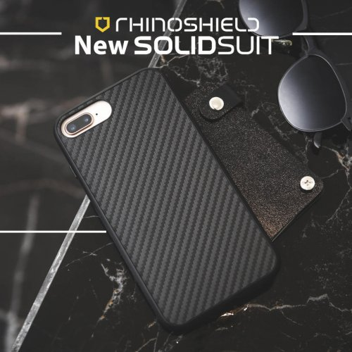 Ốp lưng Iphone 8 Plus/7 Plus RhinoShield Solid Suit cực chất ,1
