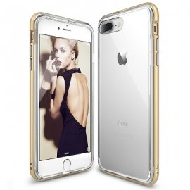 Ốp lưng Iphone 8/IP7 RingKe Frame USA 2 lớp trong suốt chống sốc