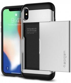 Ốp lưng Iphone X/XS Spigen Slim Armor CS chống sốc có ngăn card