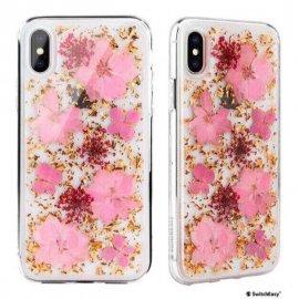Ốp lưng Iphone X/XS Switch Easy Hoa anh đào thật siêu nữ tính USA