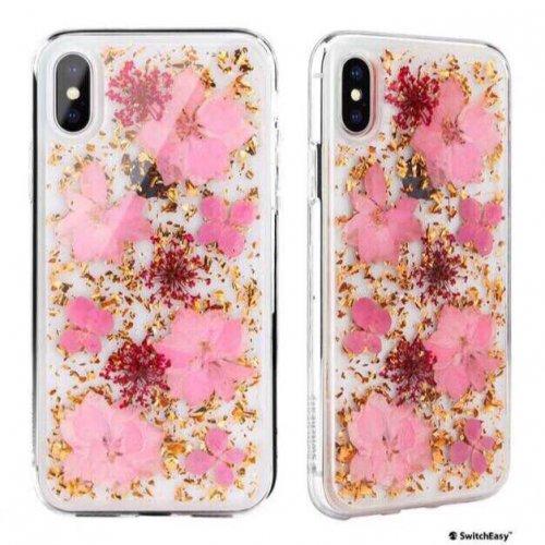 Ốp lưng Iphone X/XS Switch Easy Hoa anh đào thật siêu nữ tính USA ,1