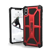 Ốp lưng Iphone XS Max UAG Monarch 5 lớp siêu chống sốc USA màu đỏ