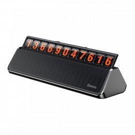 Bảng số điện thoại Baseus Hermit Temporary LV121 dùng cho xe hơi