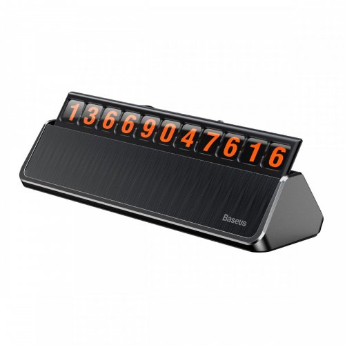Bảng số điện thoại Baseus Hermit Temporary LV121 dùng cho xe hơi ,1