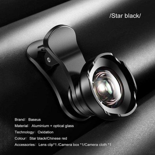 Lens chụp ảnh Baseus HD Wide 3in1 dùng cho mọi thiết bị ,1