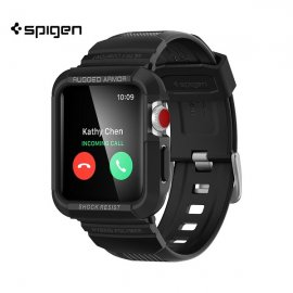 Ốp liền dây Apple Watch Spigen Rugged Armor Pro (44 mm)