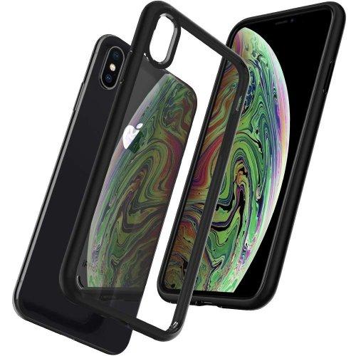 Ốp lưng Iphone XS Max Spigen SGP Ultra Hybrid trong viền bumper ,2