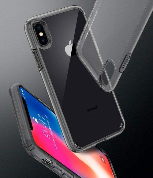 Ốp lưng Iphone XS Max Spigen SGP Ultra Hybrid trong viền bumper ,5