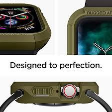 Ốp lưng Apple Watch Spigen Rugged Armor USA ( 44mm) ,1