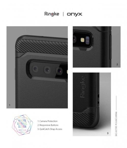 Ốp lưng  Galaxy S10 Plus  Ringke Onyx chống sốc ,5