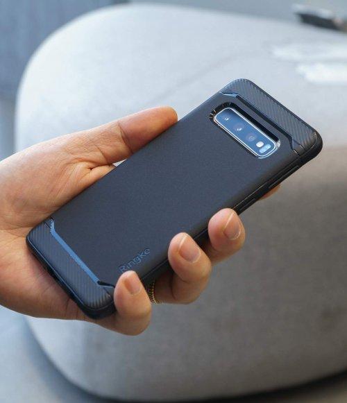 Ốp lưng  Galaxy S10 Plus  Ringke Onyx chống sốc ,3