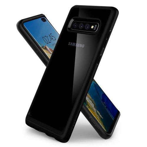 Ốp lưng Galaxy S10 Plus Spigen SGP Ultra Hybrid trong suốt USA ,4