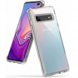 Ốp lưng Galaxy S10 Plus RIngke Fusion USA trong suốt không ố vàng