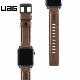Dây đeo Apple Watch 40mm & 38mm UAG Leather USA Cao cấp
