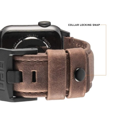 Dây đeo Apple Watch 40mm & 38mm UAG Leather USA Cao cấp ,4