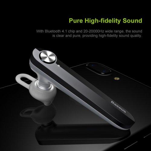 Tai Nghe Bluetooth BASEUS A01 Kết Nối 2 Điện Thoại ,3