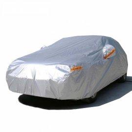 Bạt phủ xe hơi sedan 5 chỗ màu bạc