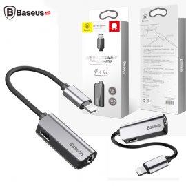 Bộ chuyển cổng Lightning sang Audio 3.5mm + Lightning tích hợp Baseus
