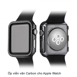 Ốp Apple Watch Vân Carbon 38/40mm