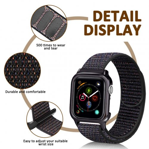 Dây liền ốp Apple Watch USAM Sport Loop 44mm ,3