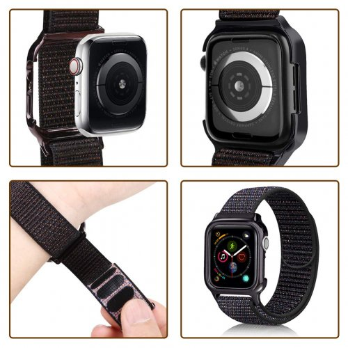 Dây liền ốp Apple Watch USAM Sport Loop 44mm ,4