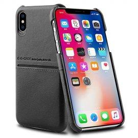 Ốp lưng da Iphone XS MAX có khe để Card G-CASE