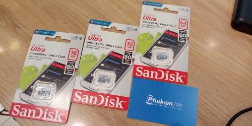 Thẻ nhớ SanDick 32gb ,1