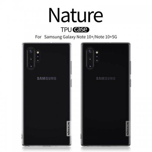 Ốp lưng Silicon Nillkin cho Samsung Note 10 Plus ,2