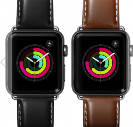 Dây Apple Watch Laut Oxford da thật Nappa (38/40mm)