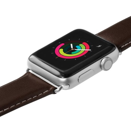 Dây Apple Watch Laut Oxford da thật Nappa (38/40mm) ,4
