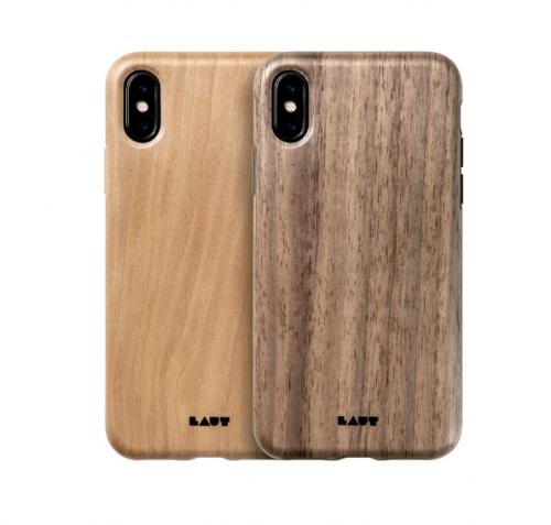 Ốp lưng Iphone X/XS Laut Pinnacle vân gỗ tự nhiên ,5