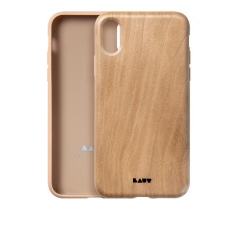 Ốp lưng Iphone X/XS Laut Pinnacle vân gỗ tự nhiên ,1